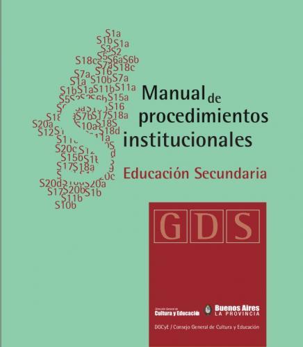manual de procedimientos institucionales educaci n secundaria rh suteba org ar manual de procedimientos primaria cd manual de procedimientos para escuelas primarias