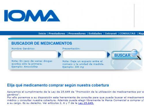 Ioma Nuevo Buscador De Medicamentos
