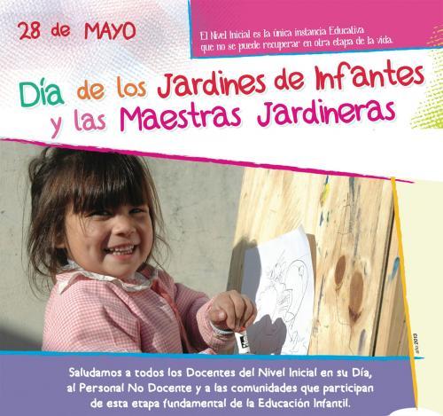 28 de mayo d a de los jardines de infantes y las maestras for Los jardines de la cartuja