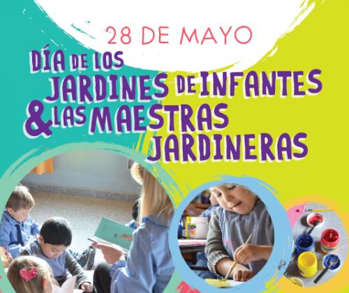 28 mayo d a de los jardines de infantes y las maestras for Canciones para el jardin de infantes